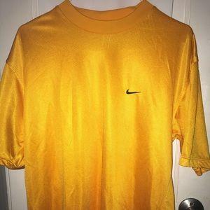 Nike Shirt Yellow Size Medium